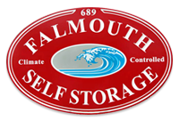 Falmouth Self Storage, Cape Cod self storage units, climate controlled storage rentals, secure business records storage, public self storage facility, Falmouth MA, Upper Cape MA